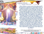 Medjugorje Message from the Blessed Virgin Mary, November 2, 2016