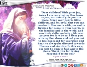 Medjugorje Message from the Blessed Virgin Mary, December 25, 2016