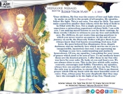 Medjugorje Message from the Blessed Virgin Mary, January 2, 2017