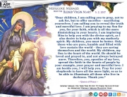 Medjugorje Message from the Blessed Virgin Mary, May 2, 2017