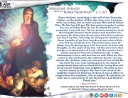 Medjugorje Message from the Blessed Virgin Mary, August 2, 2017