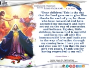Medjugorje Message from the Blessed Virgin Mary, June 25, 2018