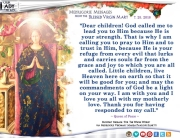 Medjugorje Message from the Blessed Virgin Mary, July 25, 2018