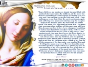 Medjugorje Message from the Blessed Virgin Mary, September 2, 2018